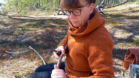 Video: Heini Wesslin näyttää, miten parkkia kerätään.