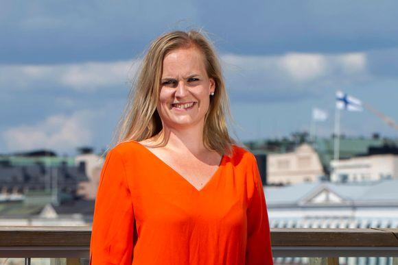 Johanna Huurre, liiketoimintajohtaja, Helsinki Business Hub