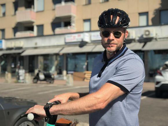 Aleksi Jäntti Laukontorilla.