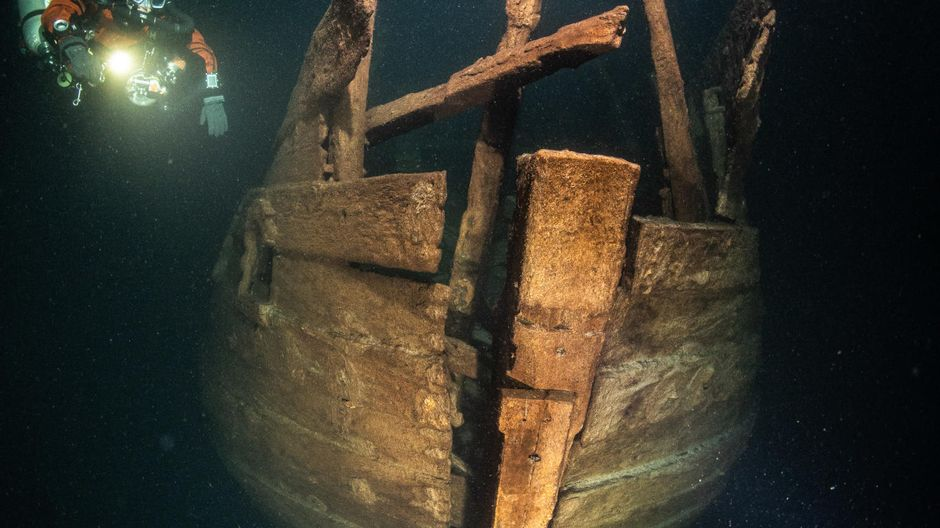 """""""Unique"""" Gulf of Finland shipwreck may be 400 years old"""