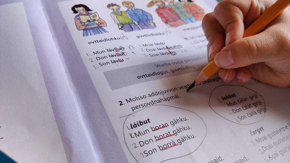 saamen kielen opiskelu