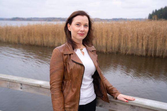 Susanna Lankinen vapaaehtoistyöntekijä, Pelastakaa lapset Ry.