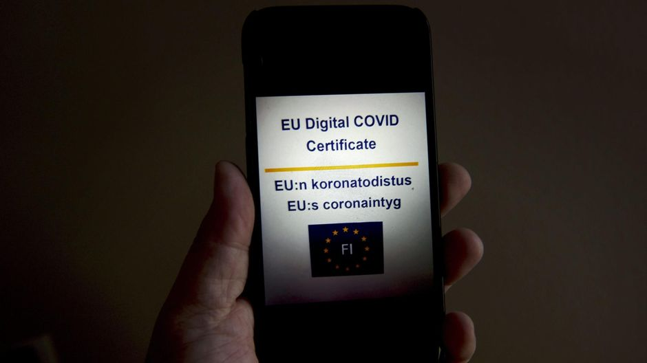 Image Finland turns red on European Covid map