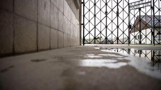 Natsien keskitysleirin muistopaikka Dachaussa Saksassa.